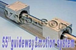 20mm 55 Rail Guideway System with2 Slide Units Linear Motion 7429