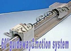 20mm 60 Rail Guideway System with2 Slide Units Linear Motion 8389