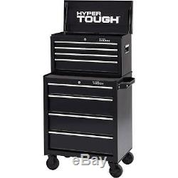 4 Drawer Rolling Tool Chest Metal Cabinet with Ball-Bearing Slides Tools Storage