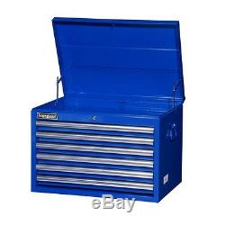 6 Drawer Heavy Duty Ball Bearing Slide Steel Tool Top Chest Cabinet Box Storage