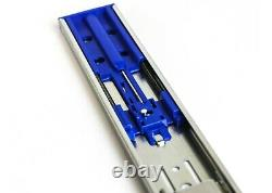 Ball Bearing Full Extension 24Soft Close Drawer Slide with Rear Bracket 10 Pair