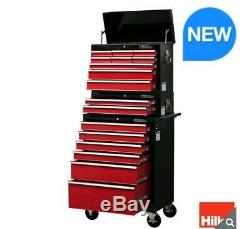 HD Pro Ball Bearing Slides All Steel 17 Drawer Combination Tool Chest Trolley