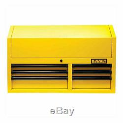 Heavy Duty Metal 36 Inch Gas Springs Top Ball Bearing Slides 6 Drawer Top Chest