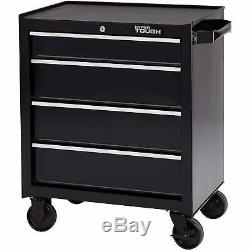 Hyper Tough 4-Drawer Rolling Tool Cabinet With Ball-Bearing Slides 26W NEW