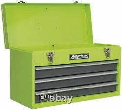 Large Tool Chest 3 Drawer With Ball Bearing Slides High Visability