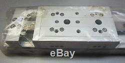 SMC MXW16-125 pneumatic air slide table linear stage bearing guided