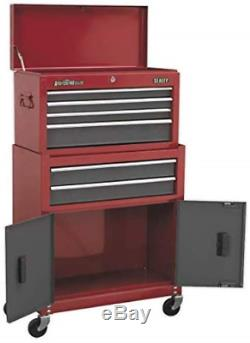 Sealey AP2200BB 6 Drawer Topchest & Rollcab Combination with Ball Bearing Slides