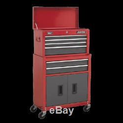 Sealey AP2200BB Topchest & Rollcab Combination 6 Drawer with Ball Bearing Slides
