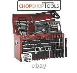 Sealey AP2201BBCOMBO Topchest 6 Drawer with Ball Bearing Slides Red/Grey & 98p