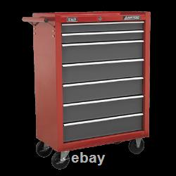 Sealey AP22507BB Rollcab Tool Box Chest 7 Drawer Ball Bearing Runners Slides