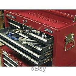 Sealey AP22509BB Topchest 9 Drawer with Ball Bearing Slides Red/Grey 1