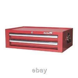 Sealey AP26029T Mid-Box 2 Drawer with Ball Bearing Slides Red