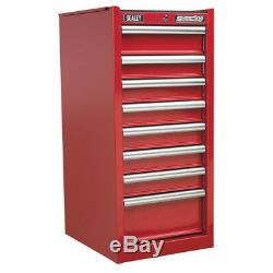 Sealey AP33589 Hang-On Chest 8 Drawer with Ball Bearing Slides Red