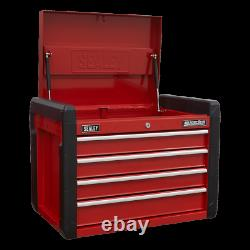 Sealey AP3401 Topchest, 4 Drawer with Ball Bearing Slides