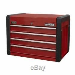 Sealey AP3401 Topchest 4 Drawer with Ball Bearing Slides