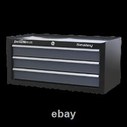 Sealey AP3503TB Add On Mid Step Up Chest Tool Box Ball Bearing Runners Slides