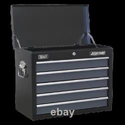 Sealey AP3505TB Tool Box Top Chest Topchest Ball Bearing Runners Slides 5 Drawer