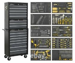 Sealey AP35TBCOMBO Tool Chest Combination 16 Drawer with Ball Bearing Slides B