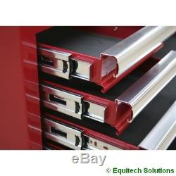 Sealey AP5213T Red 13 Drawer Tool Box Rollcab Ball Bearing Runners Slides New