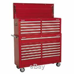 Sealey AP52COMBO1 Tool Chest Combination 23 Drawer with Ball Bearing Slides