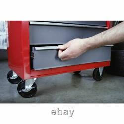 Sealey American Pro Rollcab 5 Drawer with Ball-Bearing Slides Red/Grey