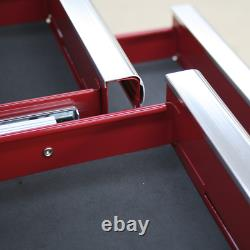Sealey Hang-On Chest 8 Drawer with Ball Bearing Slides Red Garage Workshop DIY
