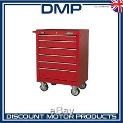 Sealey Rollcab 6 Drawer with Ball Bearing Slides Red