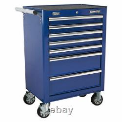 Sealey Rollcab 7 Drawer with Ball Bearing Slides Blue