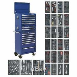Sealey SPTCCOMBO1 Tool Chest Combination 14 Drawer with Ball Bearing Slides