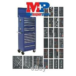 Sealey SPTCCOMBO1 Tool Chest Combination 14 Drawer with Ball Bearing Slides Bl