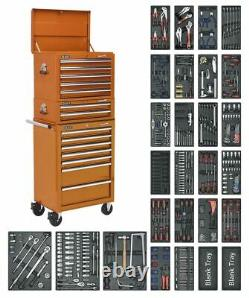 Sealey SPTOCOMBO1 Tool Chest Combination 14 Drawer with Ball Bearing Slides Or