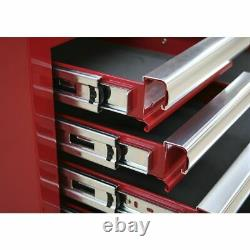Sealey Superline Pro Topchest 10 Drawer with Ball Bearing Slides Black