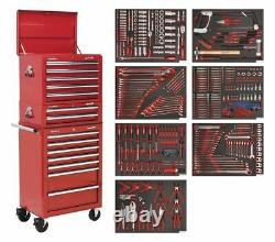 Sealey TBTPCOMBO1 Tool Chest Combination 14 Drawer with Ball Bearing Slides Re
