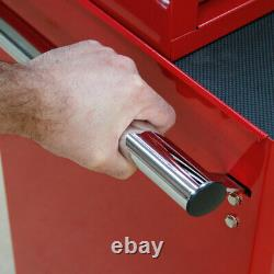 Sealey Tool Chest Combination 14 Drawer-Ball Bearing Slides-Red-1179pc Tool Kit