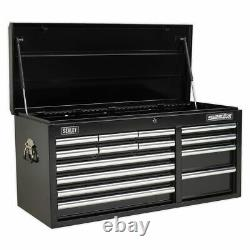 Sealey Topchest 14 Drawer With Ball Bearing Slides Heavy- Ap41149b