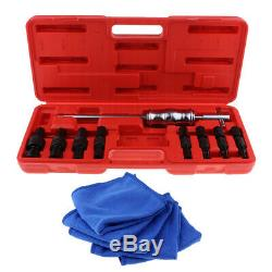 Slide Hammer Pilot Bearing Puller Extractor with 5pcs Bike Clean Care Towel