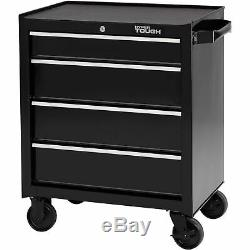 TOOL CHEST ROLLING CABINET BOTTOM 4-Drawer Storage Ball-Bearing Slides 26W