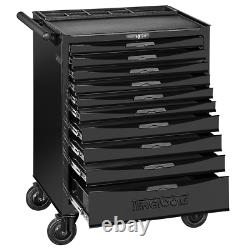 Teng Tools 10 Drawer Black Roller Cabinet With Ball Bearing Slides