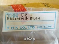 Thk Linear Ball Bearing Slides With Rail P/n Snr45lc2kkhhcoe+1800lhe-11 New