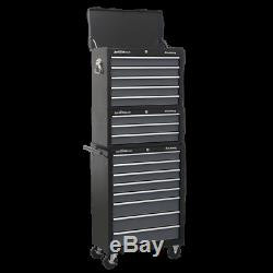 Tool Chest Combination 16 Drawer with Ball Bearing Slides Sealey AP35STACK