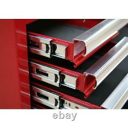 Topchest 10 Drawer With Ball Bearing Slides Black From Sealey AP33109B Syd