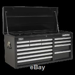 Topchest 14 Drawer with Ball Bearing Slides Heavy-Duty Sealey AP41149B