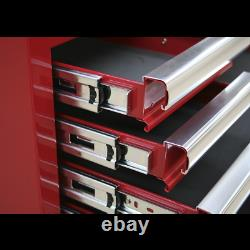 Topchest 8 Drawer with Ball Bearing Slides Red